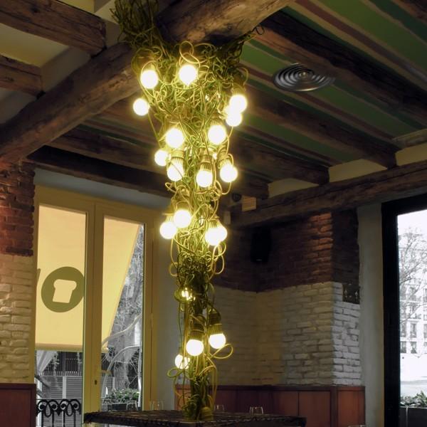 Lámpara Liana, realizada por Enpieza