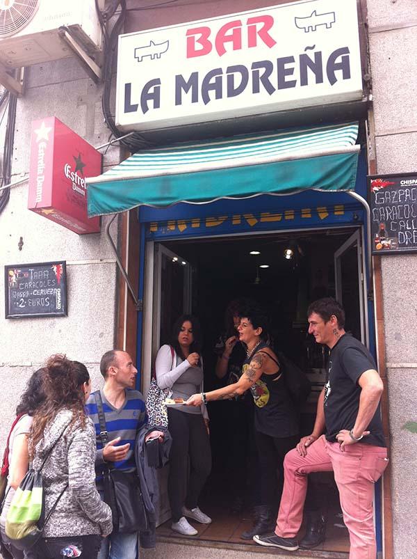 Bar La Madreña Madrid