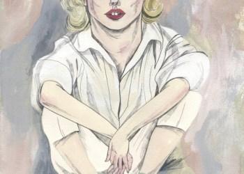 María Herreros, ilustración Marilyn tenía once dedos en los pies