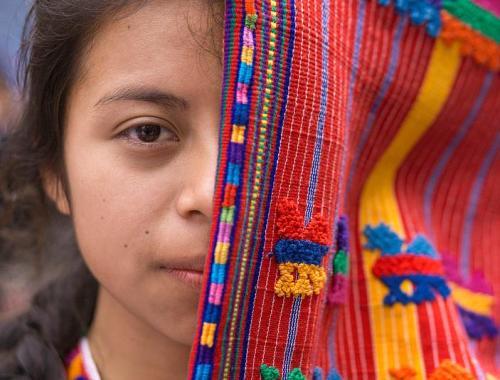 Tejedoras mayas