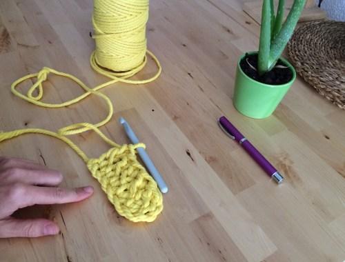 Punto doble crochet