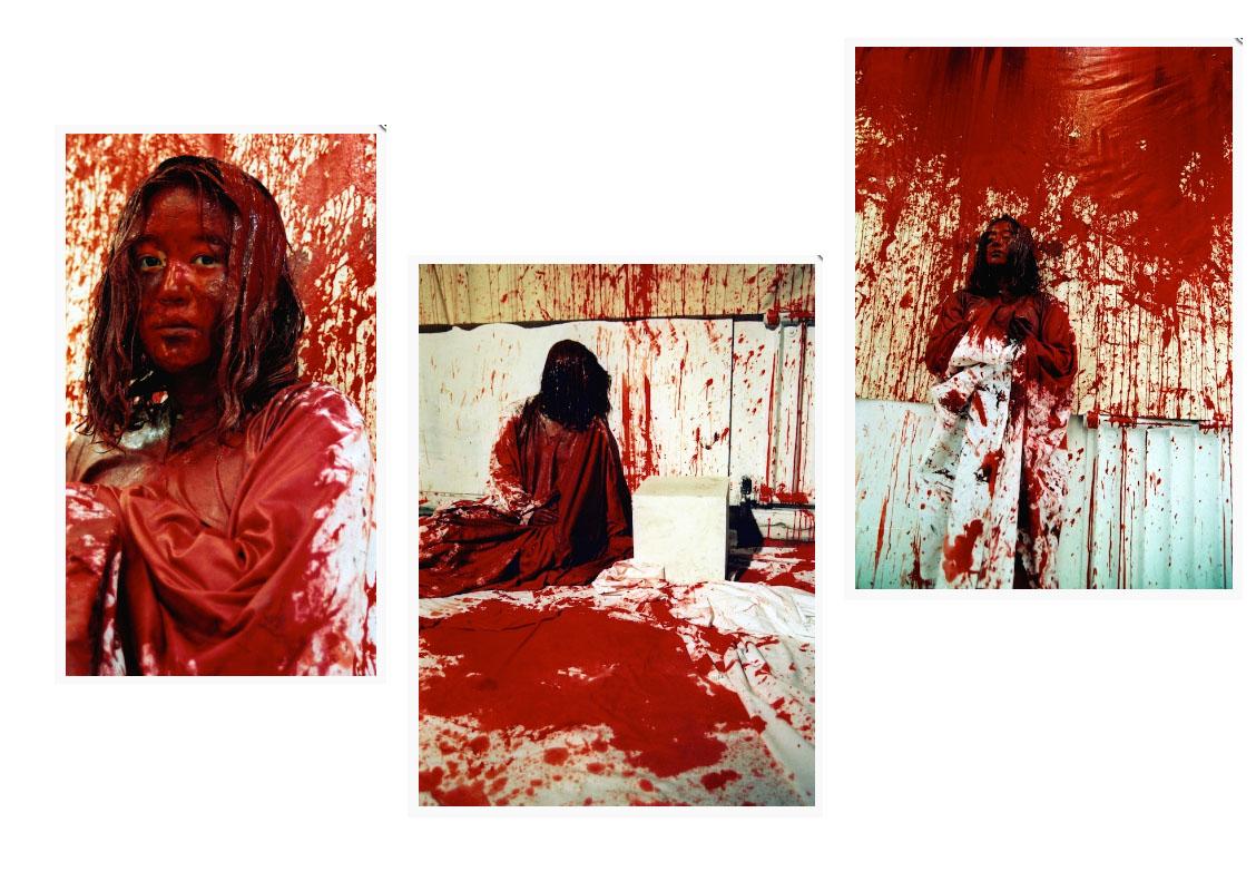 Chihara Shiota Become Painting