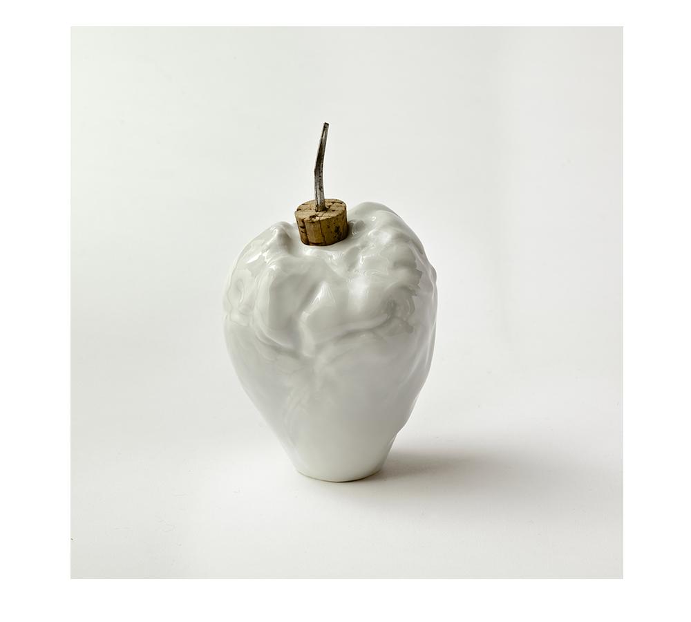 Marré Moerel, pieza de vajilla realizada con un corazón de cerdo
