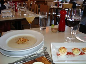 Preamble II at The Cook Shop: Deadly Parsnip Soup and Deviled Eggs