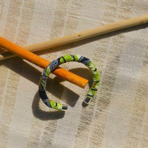 Handmade Ankara Cuff from Tribal Marks by 'Dami - bold