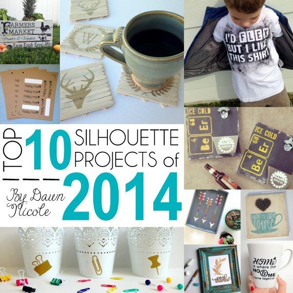 Top 10 Silhouette Projects of 2014 | bydawnnicole.com