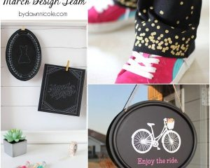 March Silhouette Design Team Projects | bydawnnicole.com