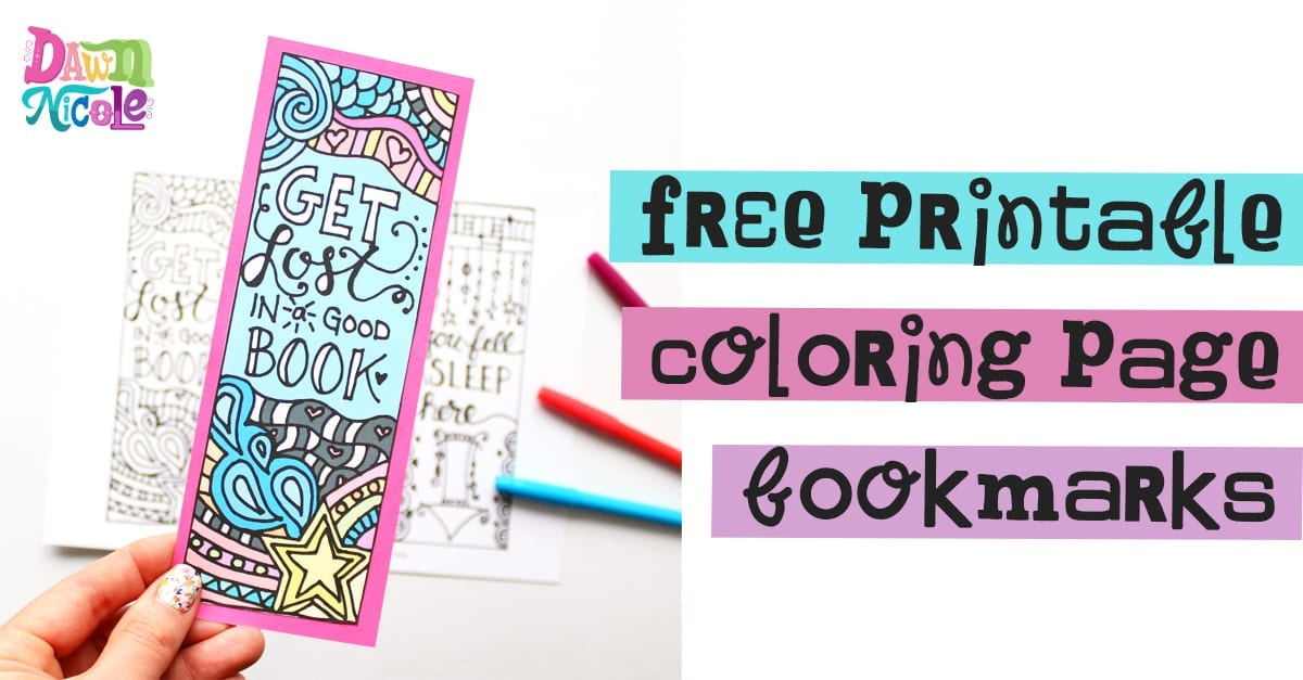 80 Top Coloring Pages Bookmarks Printable  Images