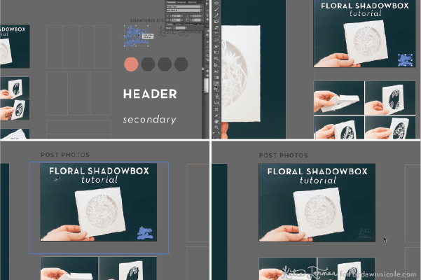 Adobe Illustrator for Bloggers: Setting up Templates to create blog graphics instantly. Plus FREE .ai Download!