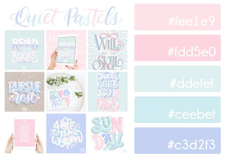 Quiet Pastels Color Palette