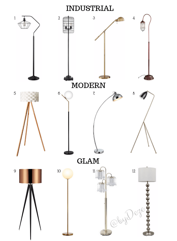 affordable floor lamps