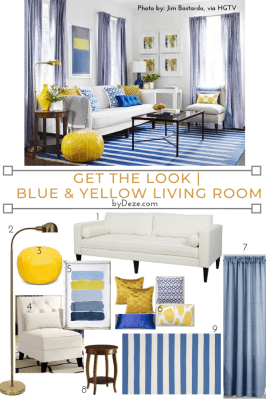 get the look of this living room