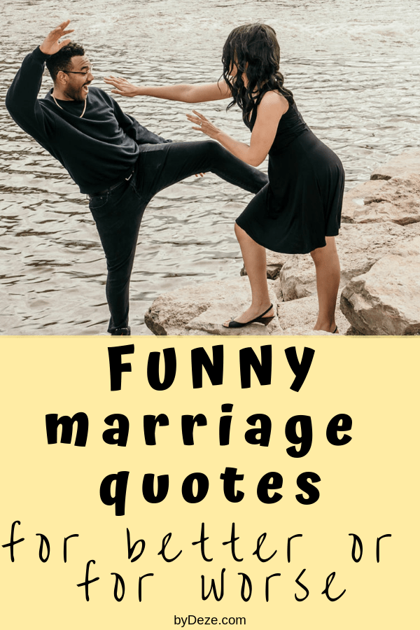 65 Funny Quotes About Marriage That Every Couple Will ...
