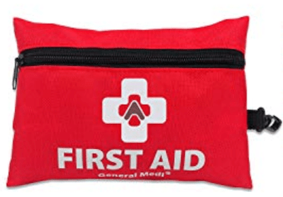 a mini first aid kit is a travel essential for safety