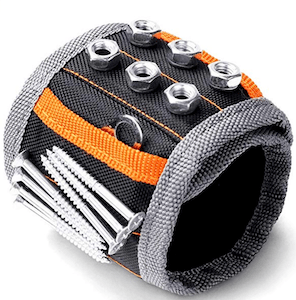 a magnetic wristband which is a great cheap gift ideas for guys