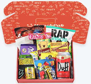 budget-friendly subscription box with snacks