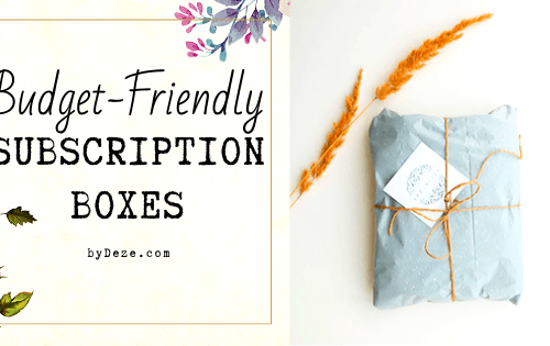 header for inexpensive subscription boxes