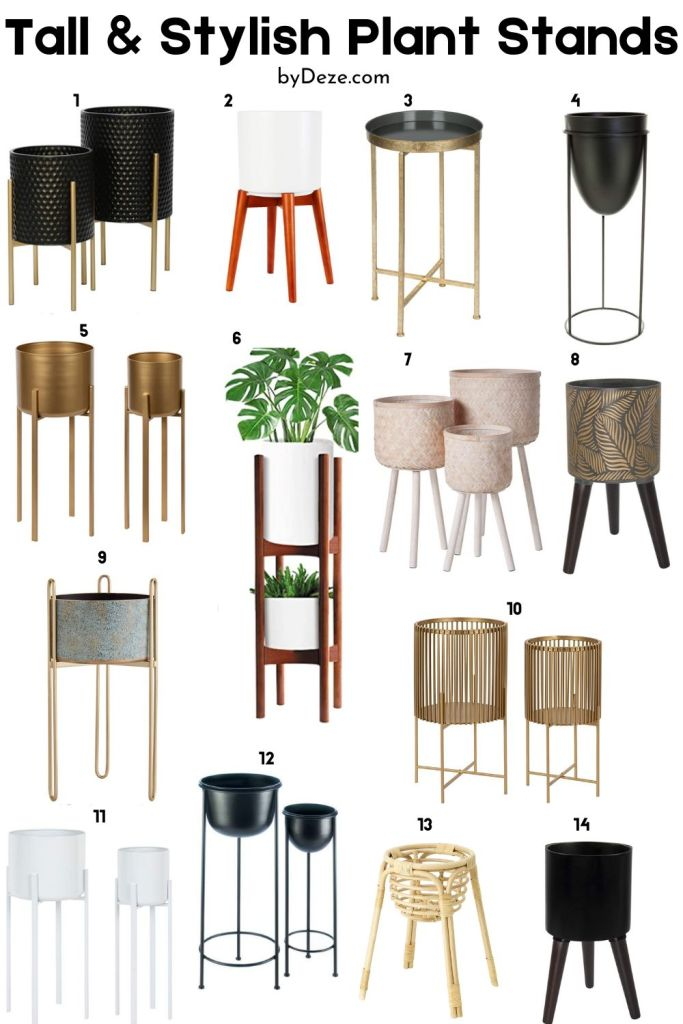 14 pictures of contemporary plant stands