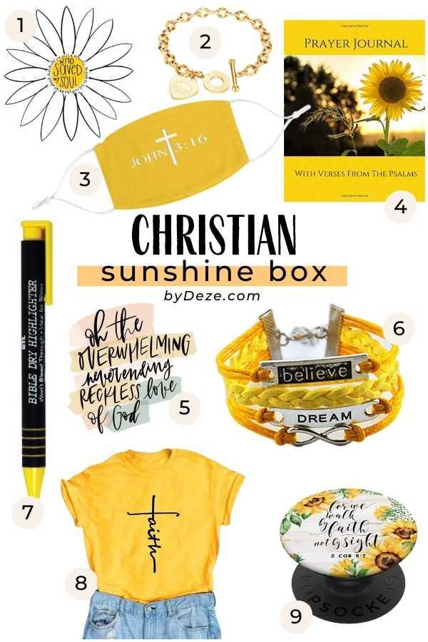religious box of sunshine ideas