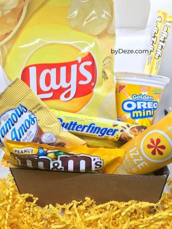 snack box of sunshine