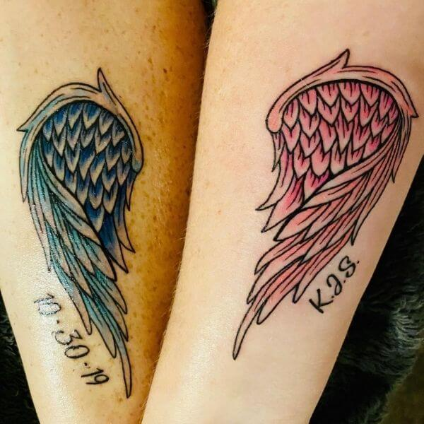 lacey_janep matching miscarriage tattoos