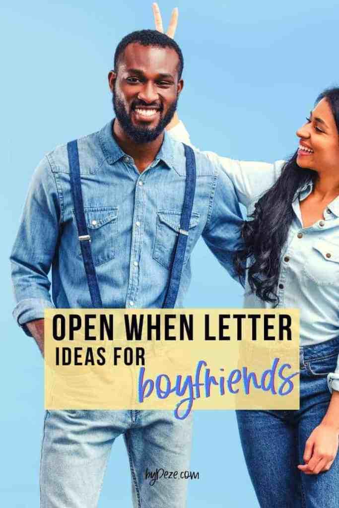 open when letters for boyfriend title image - black boyfriend