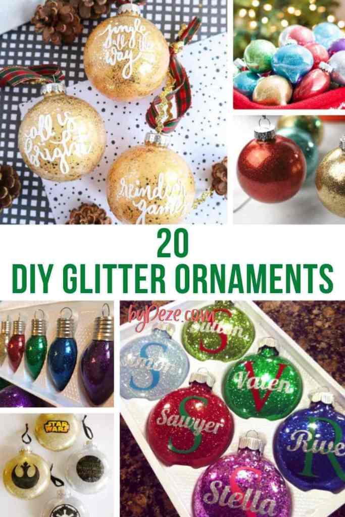 diy christmas ornaments for the christmas tree