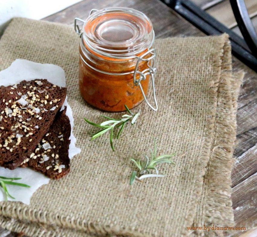 auberginecreme, aubergine, sund dip opskrift