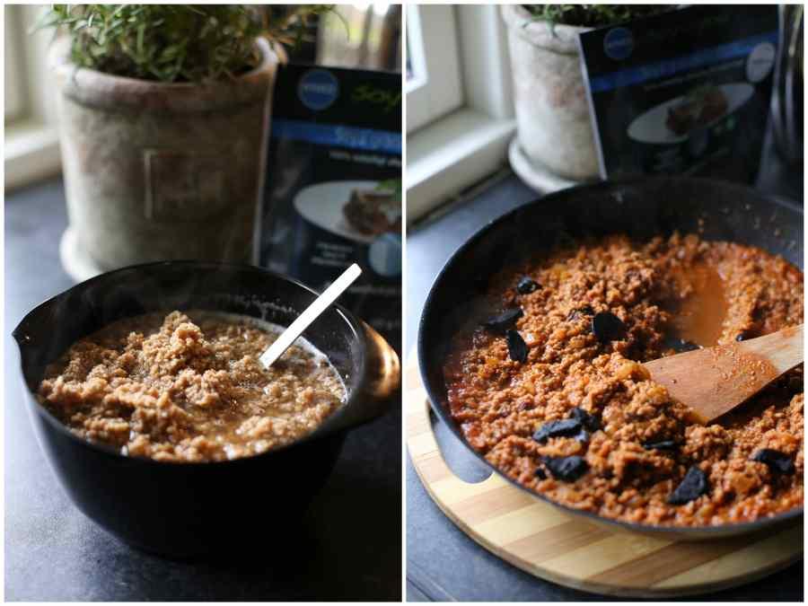 kødfri moussaka med grillede auberginer, soy4you
