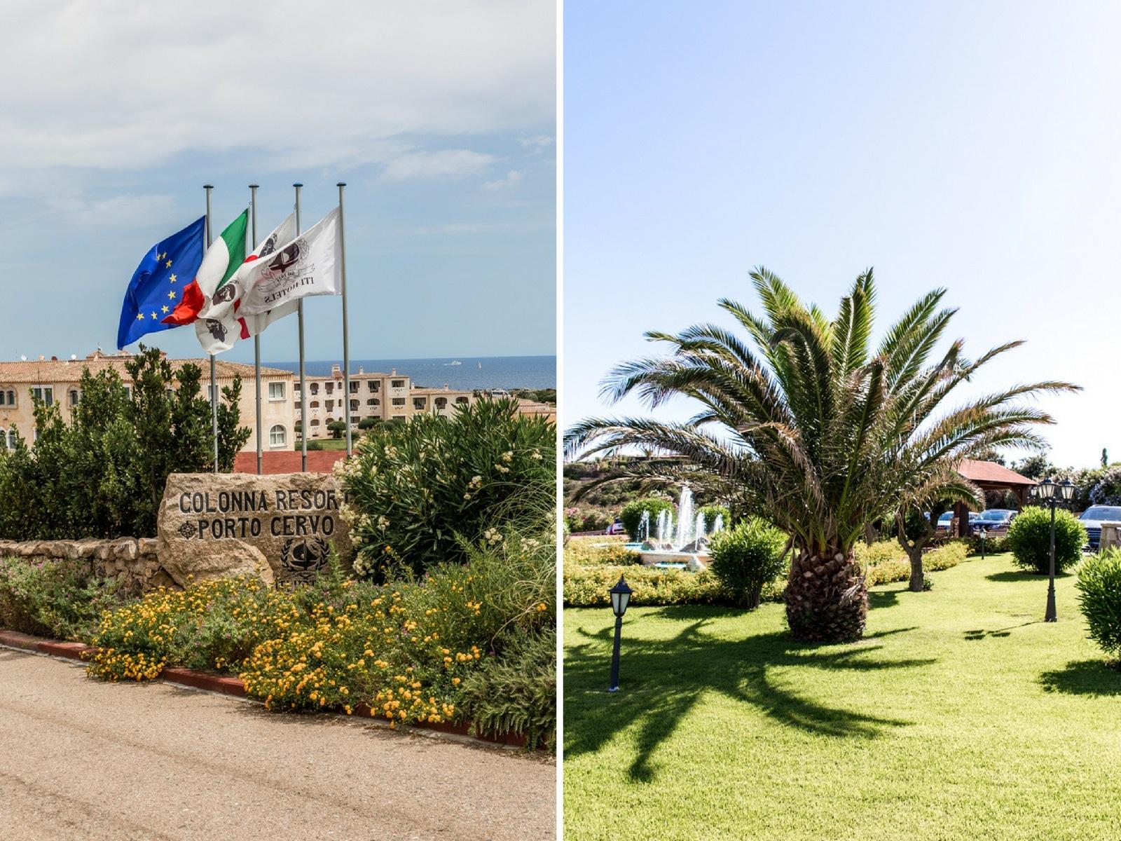 colonna resort costa smeralda, sardinien, italien