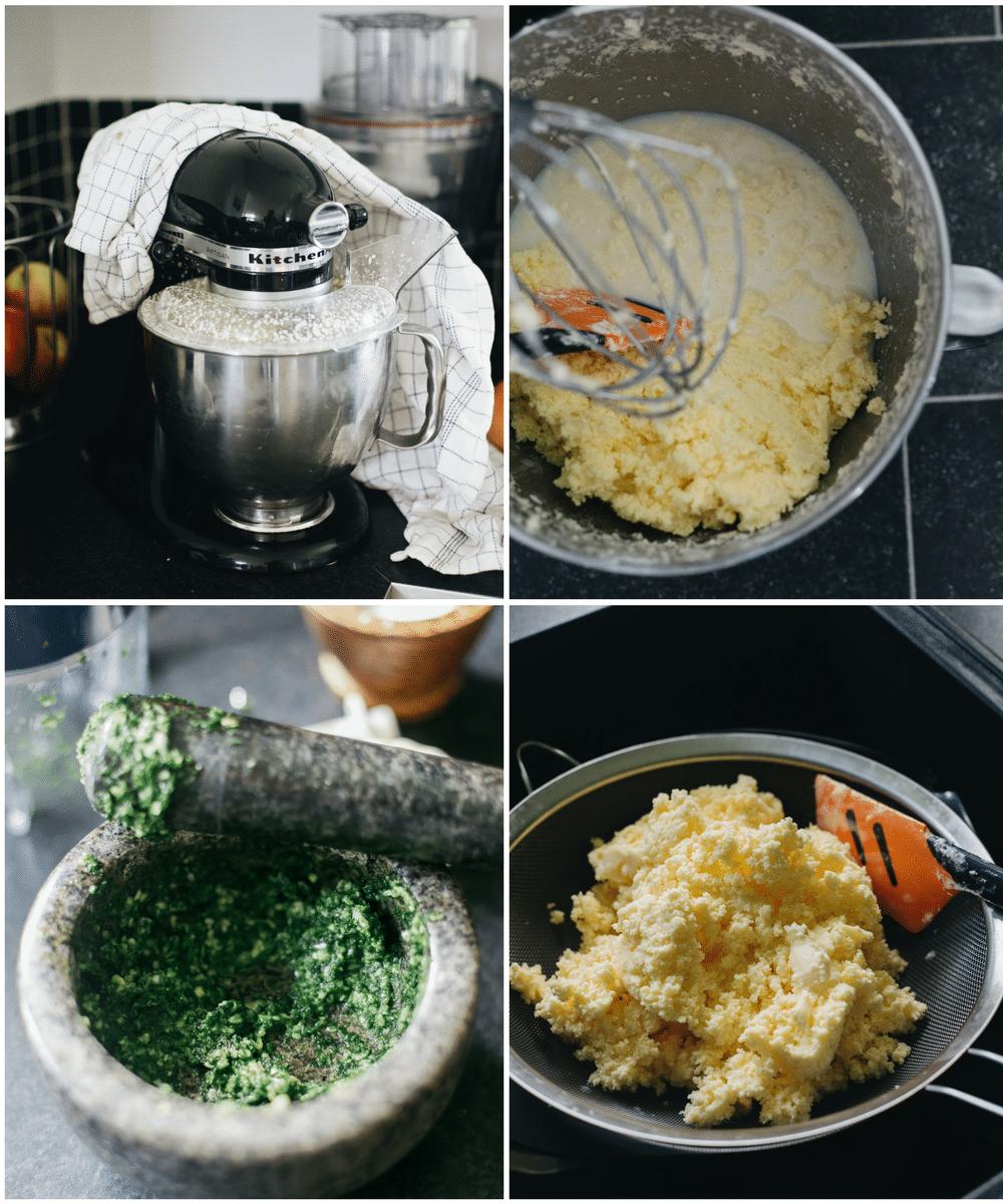 hjemmelavet smør, DIY, hvidløgssmør med persille, flødesmør