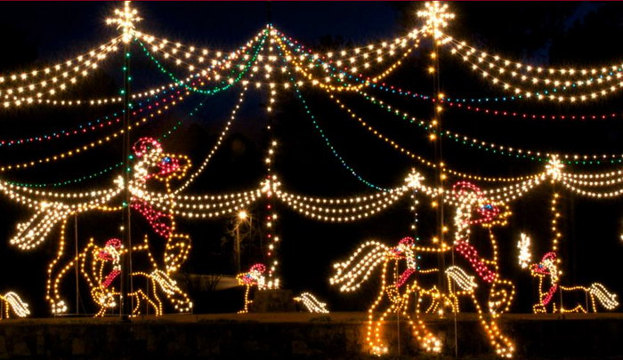 Lake Lanier Christmas Lights Places We Go People We See