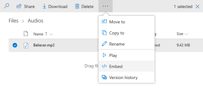 How to Get Direct or Permanent Link for OneDrive Files? | Bydik com