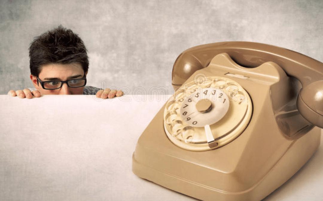 Je suis timide et j'ai peur de téléphoner