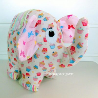Elefanten Pellefant – morsomt syprosjekt