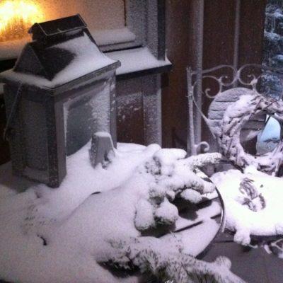 Det snør, det snør…