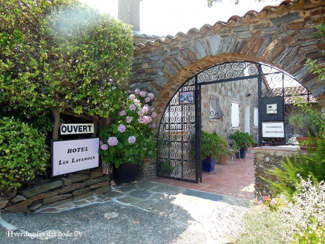 En gammel fjellby i Sør-Frankrike