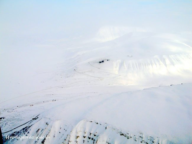 Scootertur på Svalbard