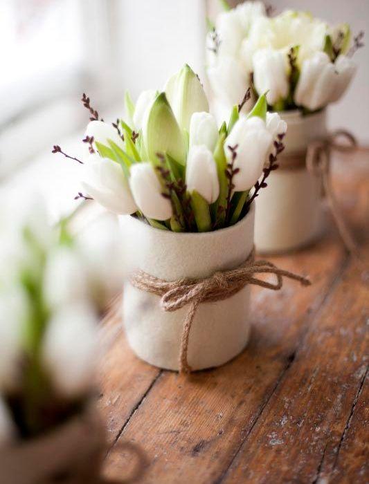 Blomster til vårbordet