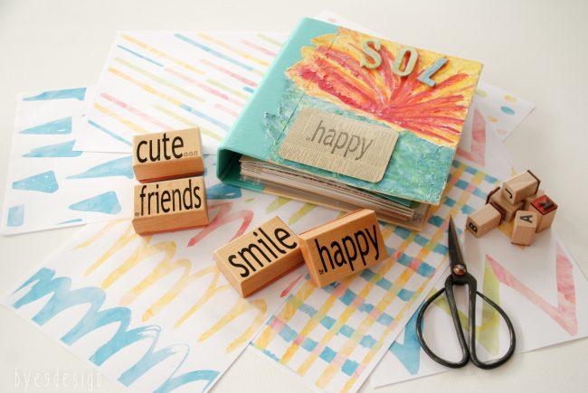 Tutti Frutti – glade farger til alle som liker papir – kort og scrapping