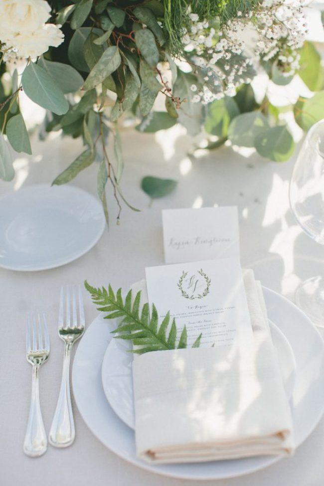 Sommerbryllup - vakre, festpyntede bord