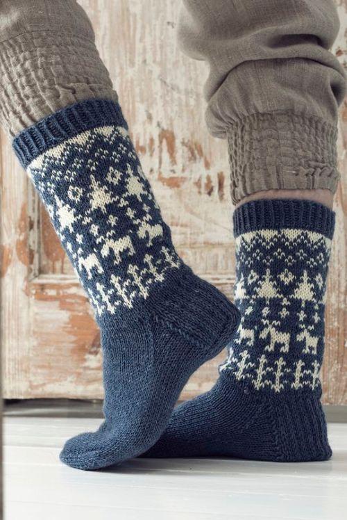 Vintersokker - sokkestrikk til kalde dager