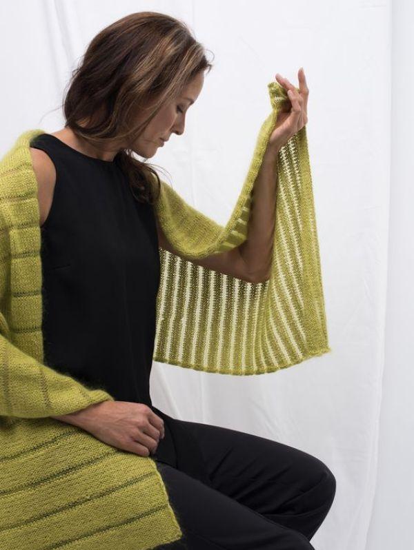 strikkede sjal - bye9design
