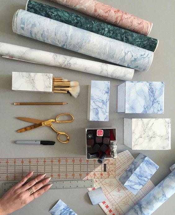 Kontakt papir – frisk opp slitte og kjedelige overflater