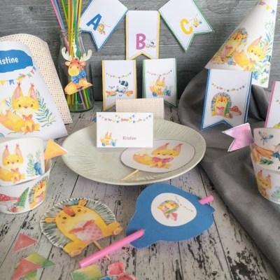 Den store eventyrpakken til barneselskapet – masse pynt