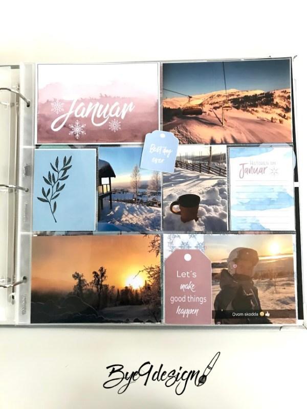 Project life januar - Ny start