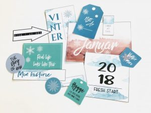 """Ny start"" med Project life og lommescrapping - Bye9design"