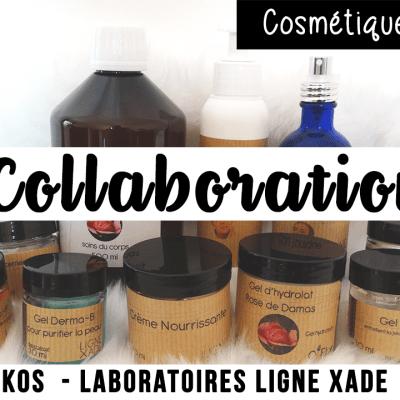 Ma collaboration avec Krealikos, cosmétiques naturels