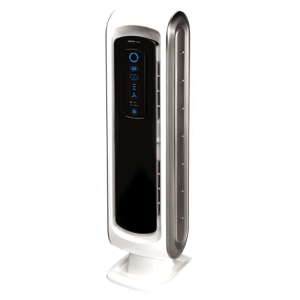 fellowes dx5 air purifier control panel operation