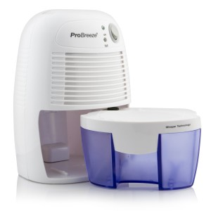 pro Breeze compact portable mini dehumidifier review byemould